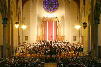 25th anniversary concert held March 14,2010